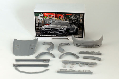 Prior Design Mercedes AMG GT 1/24 TK for Revell